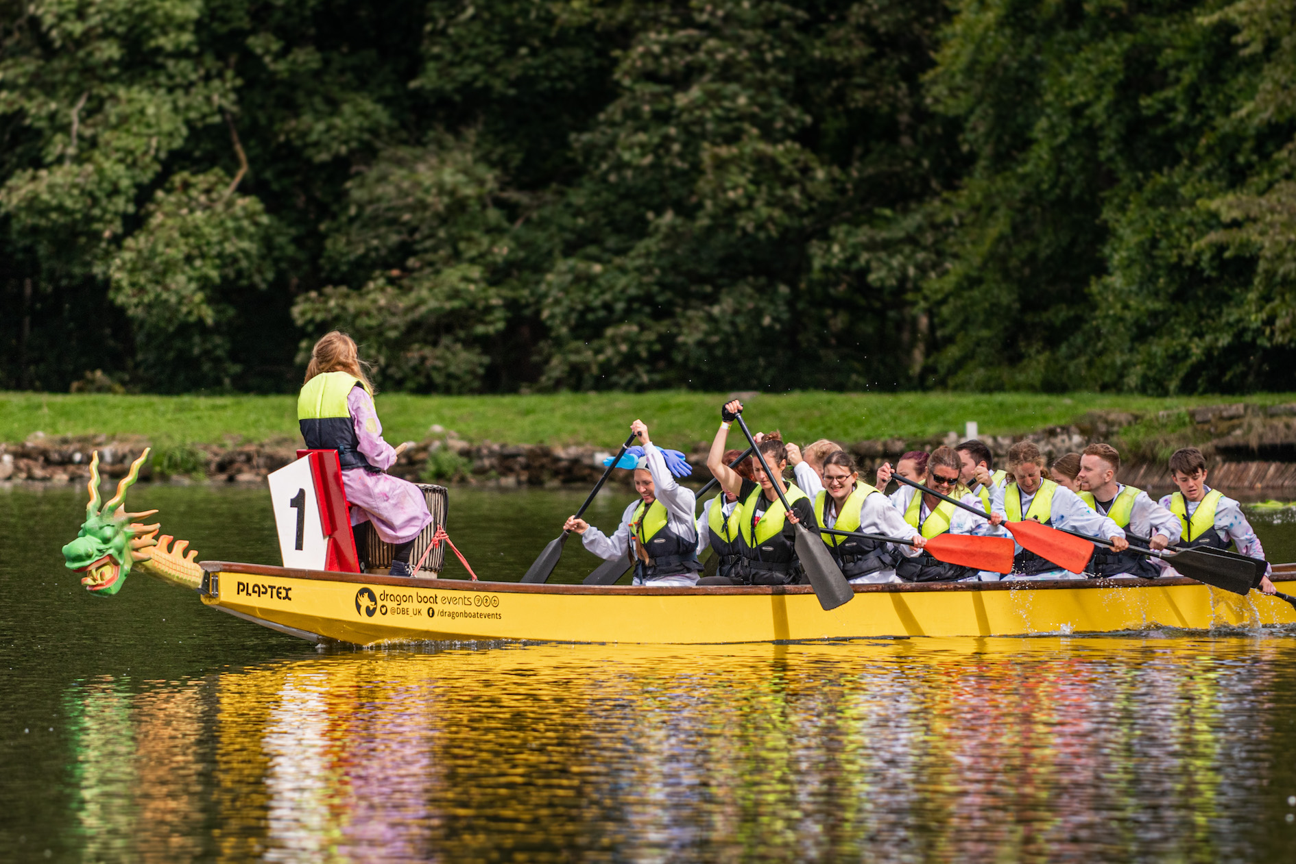 Broughton Employees take on 600-mile challenge and dragon boat race for a mental health charity